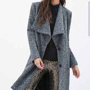 Jackets & Blazers - Beautiful !!! Classy tweed longline blazer /coat !